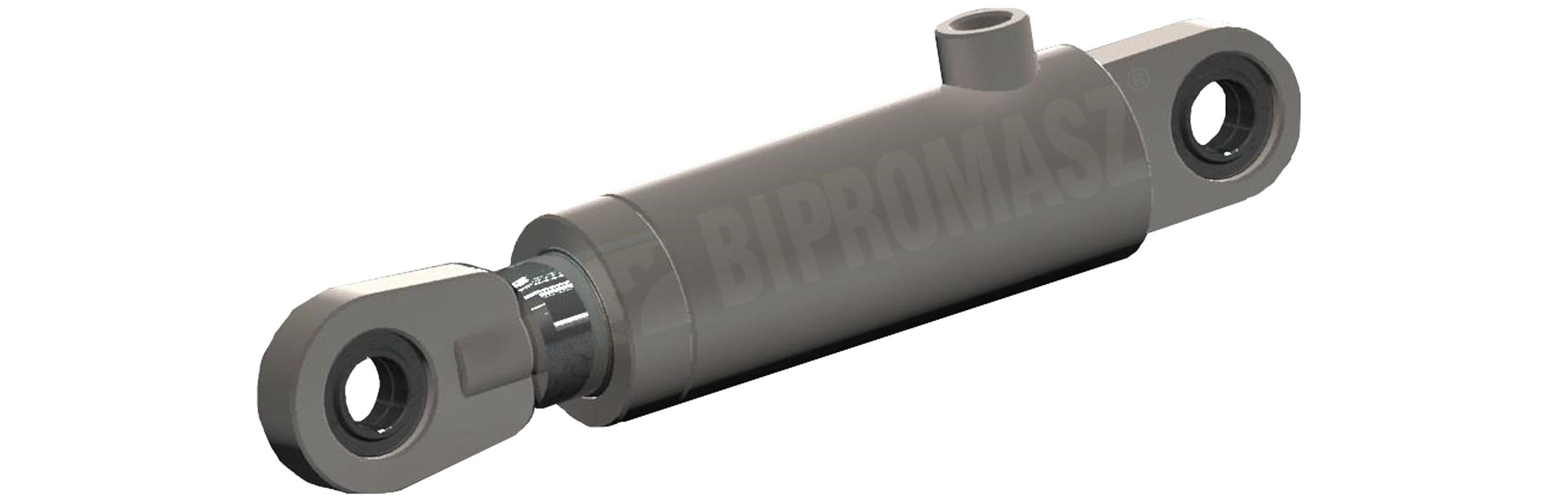 Siłownik hydrauliczny jednostronnego działania CBN produkcji firmy Bipromasz